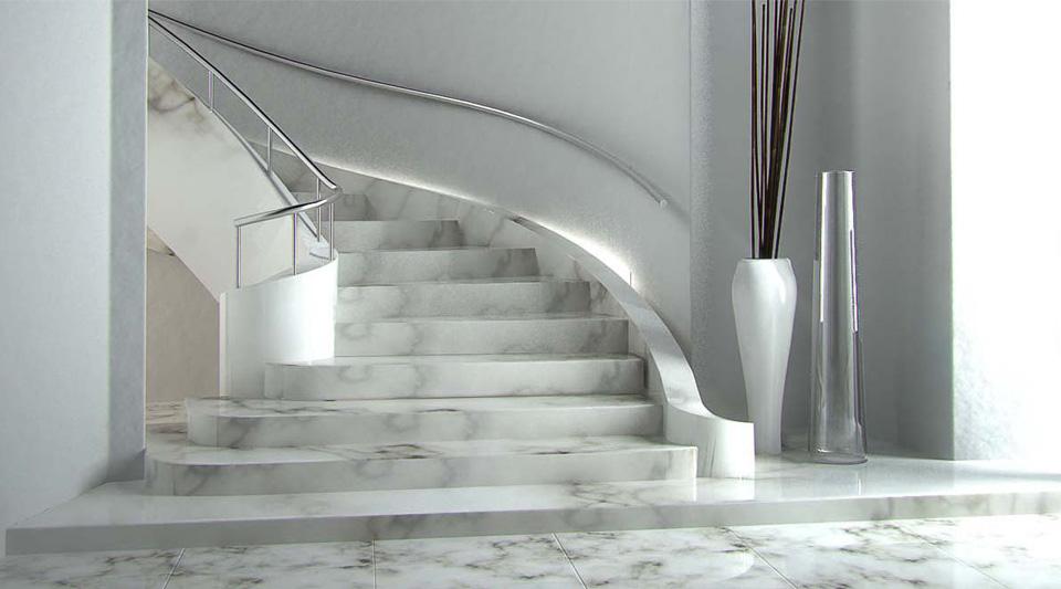 Scala marmo